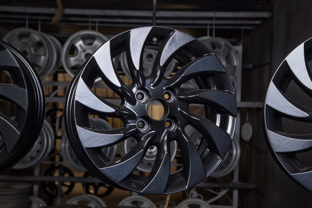 Wheel Refurbishment Manchester Powder Coating